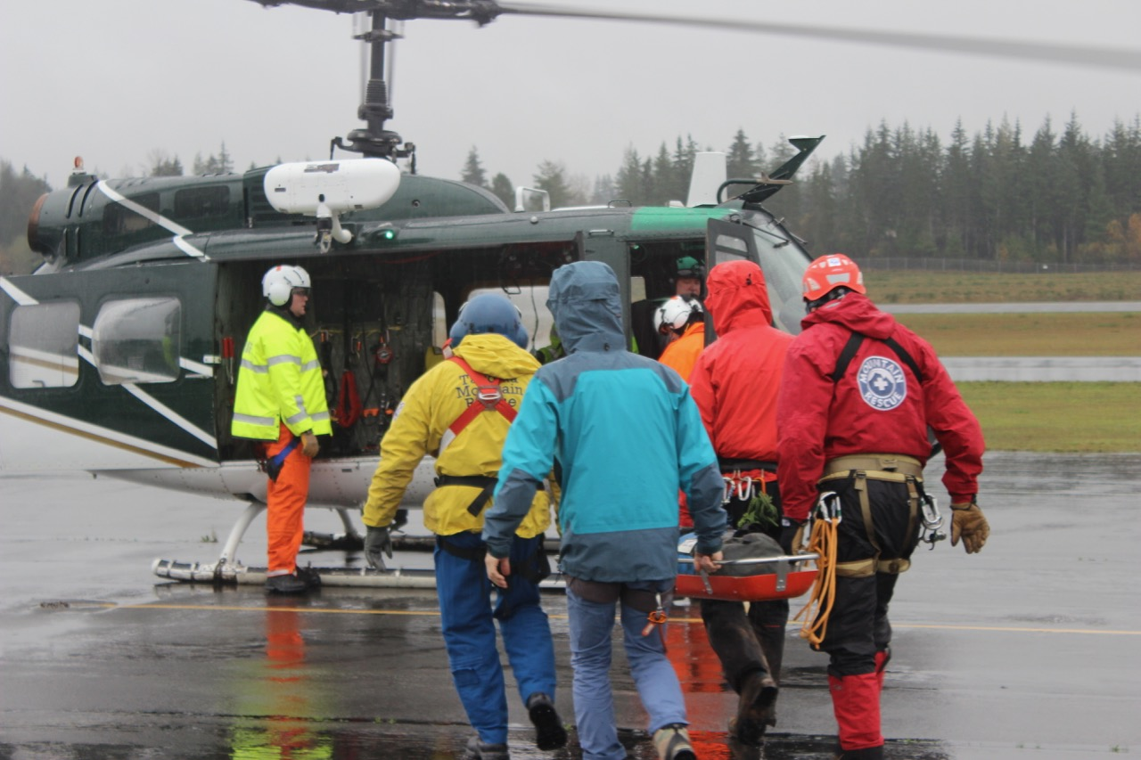 King County TMR OMR Mountain Rescue Helicopter Training